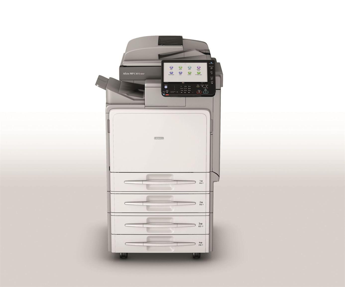 Ricoh MP 401SPF Printer PCL 6 Driver for Windows Mac