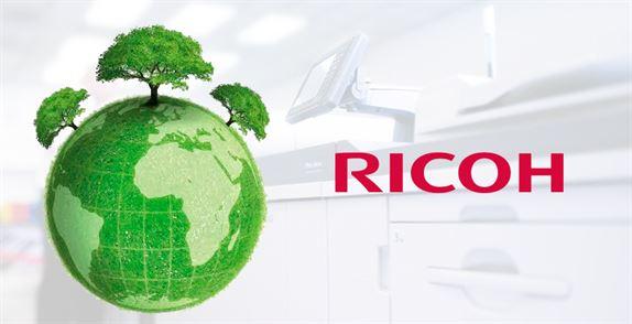 Imagen Ricoh sostenible