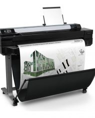 HP DesignJet T520. Lateral