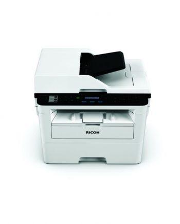 Imagen frontal desde arriba de la impresora SP 230SFNw